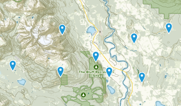 Smithers, British Columbia Views Map