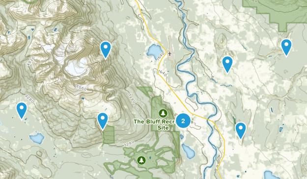 Smithers, British Columbia Walking Map