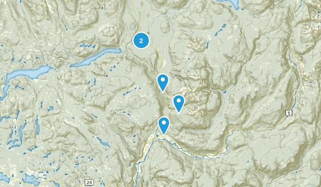 Thompson-Nicola A, British Columbia Hiking Map