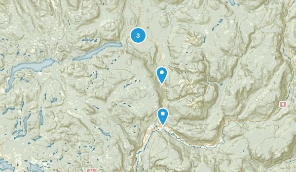 Thompson-Nicola A, British Columbia Nature Trips Map