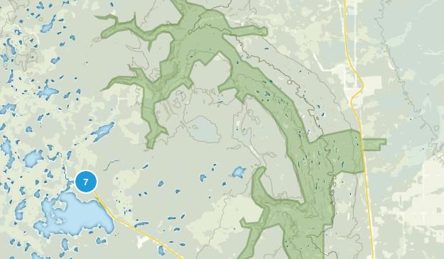 Mafeking, Manitoba Fishing Map