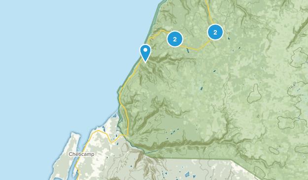 Cheticamp, Nova Scotia Hiking Map