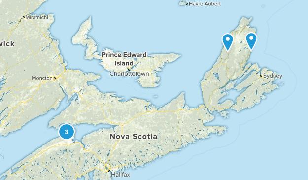 Kings, Nova Scotia Hiking Map