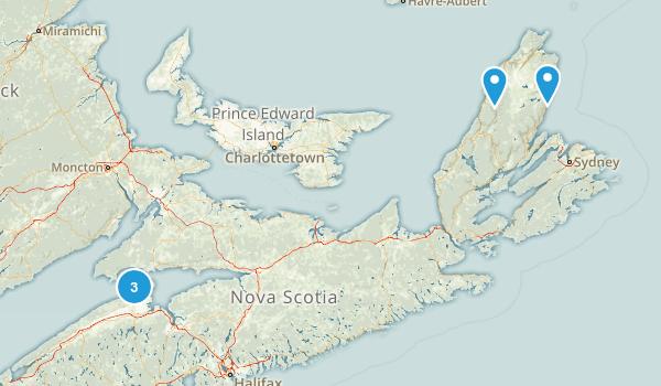 Kings, Nova Scotia Views Map