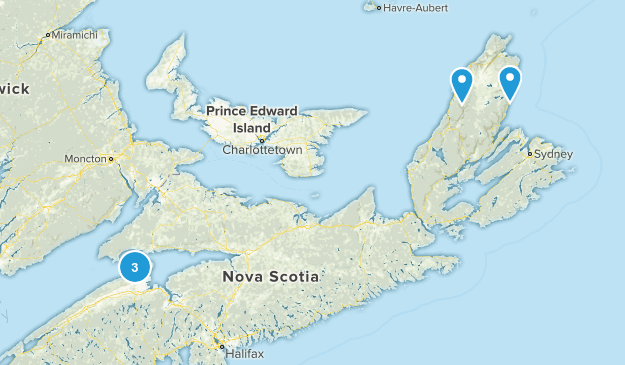 Kings, Nova Scotia Walking Map