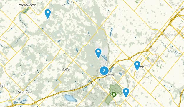 Halton, Ontario Nature Trips Map