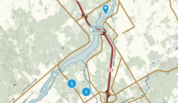Kemptville, Ontario Walking Map