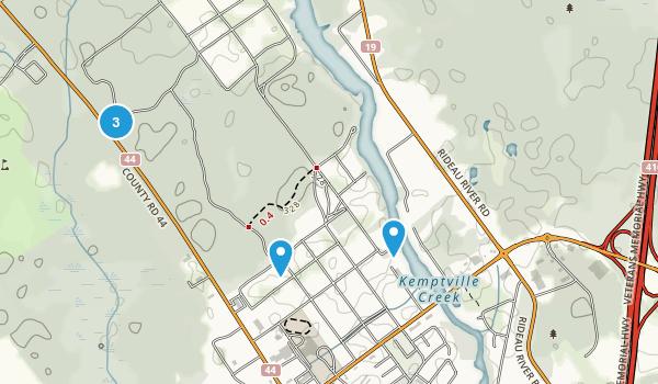 Kemptville, Ontario Wildlife Map