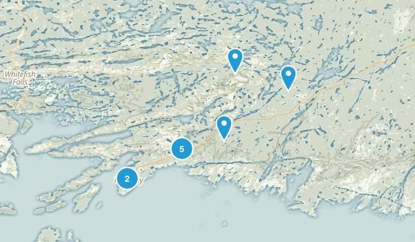 Killarney, Ontario Walking Map