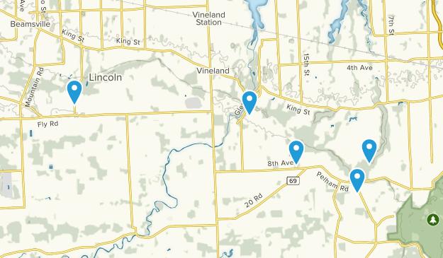 Lincoln, Ontario Views Map