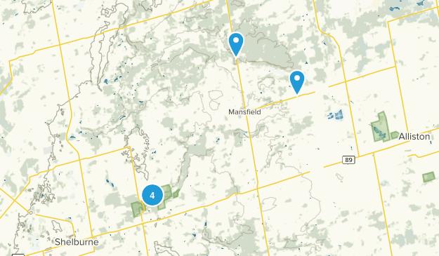 Mulmur, Ontario Nature Trips Map