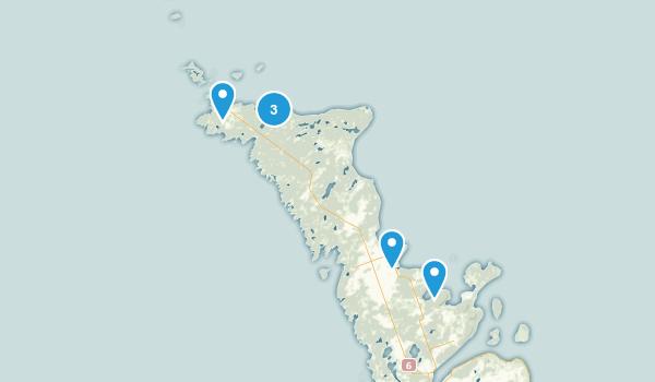 Northern Bruce Peninsula, Ontario Nature Trips Map