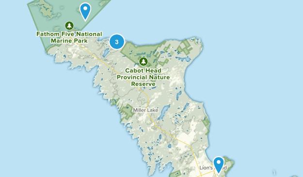 Northern Bruce Peninsula, Ontario Wildlife Map