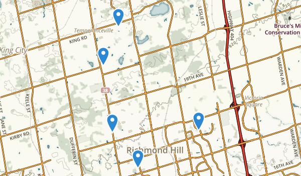 Richmond Hill Ontario Map