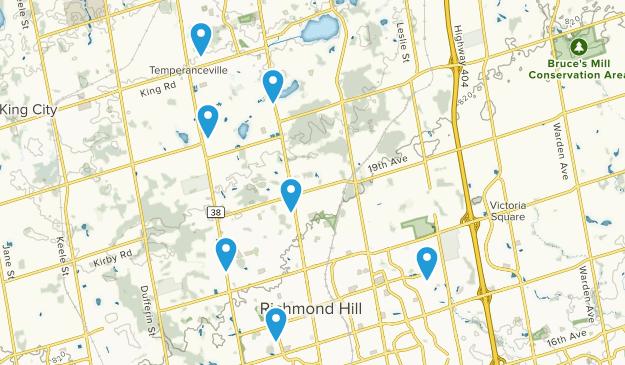Richmond Hill, Ontario Kid Friendly Map