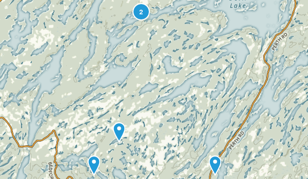South Frontenac, Ontario Forest Map