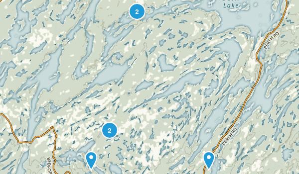 South Frontenac, Ontario Hiking Map