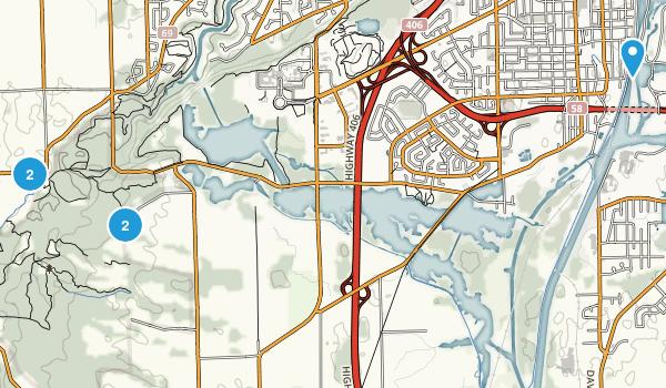 Thorold, Ontario Hiking Map