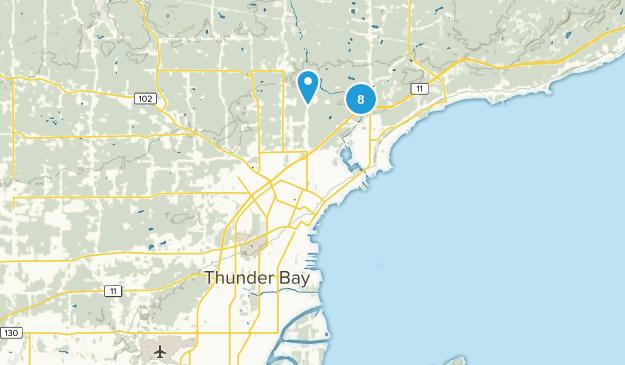 Thunder Bay, Ontario Birding Map