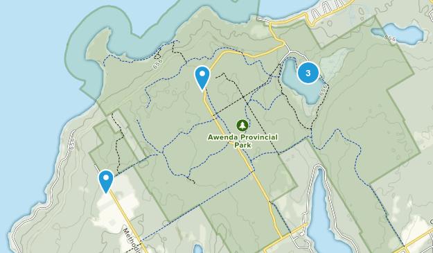 Tiny, Ontario Views Map