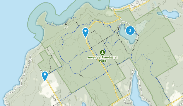 Tiny, Ontario Walking Map
