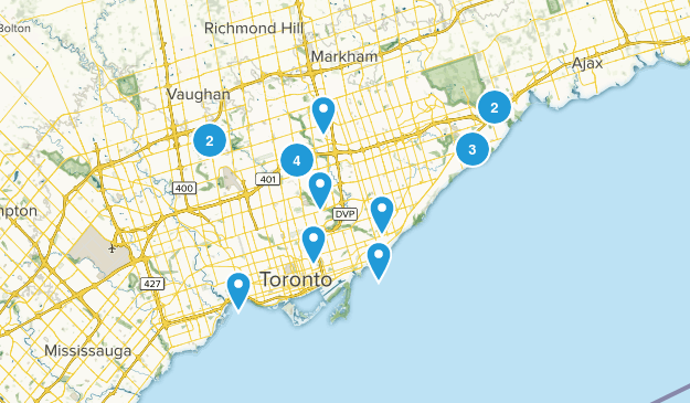 Toronto, Ontario Birding Map