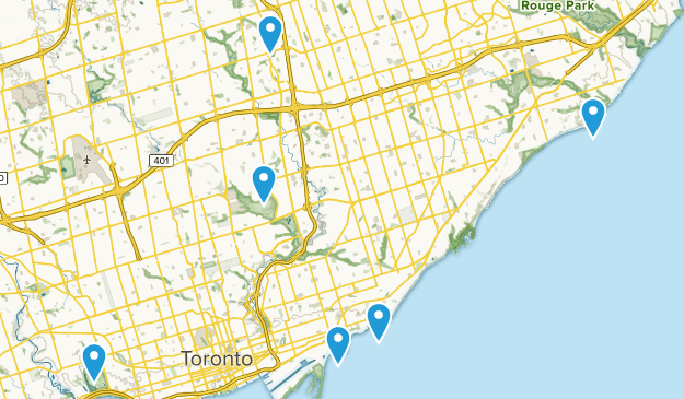 Toronto, Ontario Dog Friendly Map