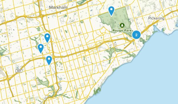 Toronto, Ontario Wildlife Map