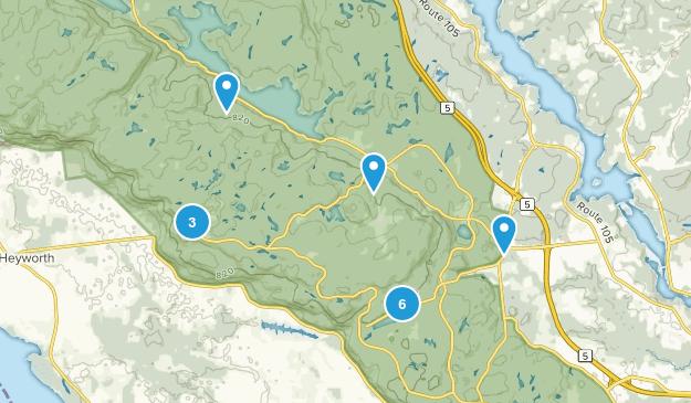 Chelsea, Quebec Wildlife Map