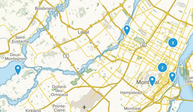 Montréal, Quebec Kid Friendly Map