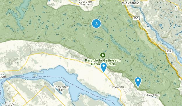 Pontiac, Quebec Bird Watching Map