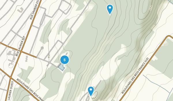 Saint-Christophe-d'Arthabaska, Quebec Walking Map
