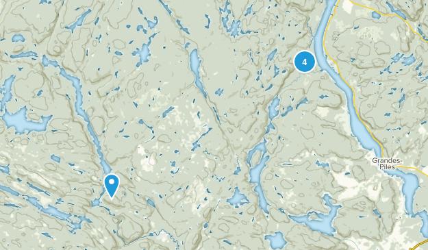 Shawinigan, Quebec Birding Map