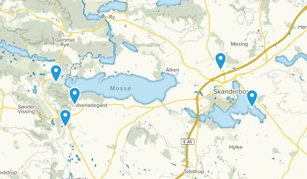Skanderborg, Midtjylland Wildlife Map