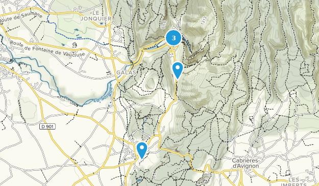 Best Views Trails near Fontaine-De-Vaucluse, Provence-Alpes ... on provence map, digne-les-bains map, nain map, condell park map, rockdale map, mondragon map, leeds castle map, corse map, mascot map, beacon hill map, newcastle map, sydney central business district map, aquitaine map, loir et cher map, loire map, riverstone map, lot map, bonnieux map, luberon map, aubagne map,