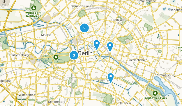 Friedrichswerder, Berlin Kid Friendly Map