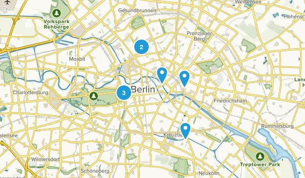 Friedrichswerder, Berlin Walking Map