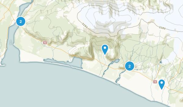 Ásólfsskáli, Suðurland Hiking Map