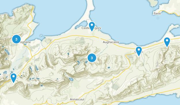 Castlegregory, Kerry County Birding Map