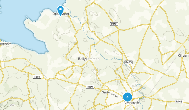 Nenagh, North Tipperary Walking Map