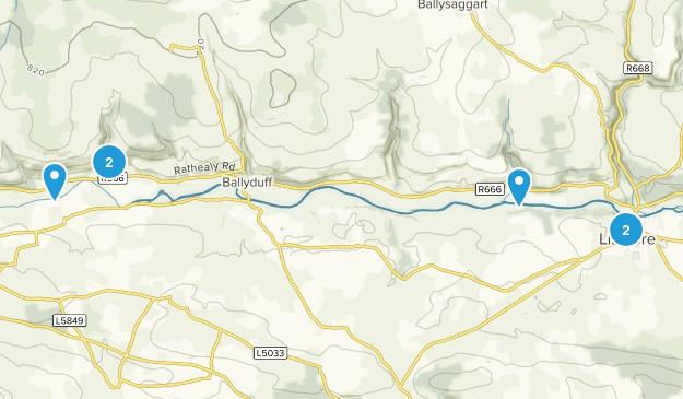 Shanavoota, Waterford Hiking Map