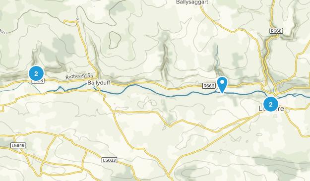 Shanavoota, Waterford Trail Running Map