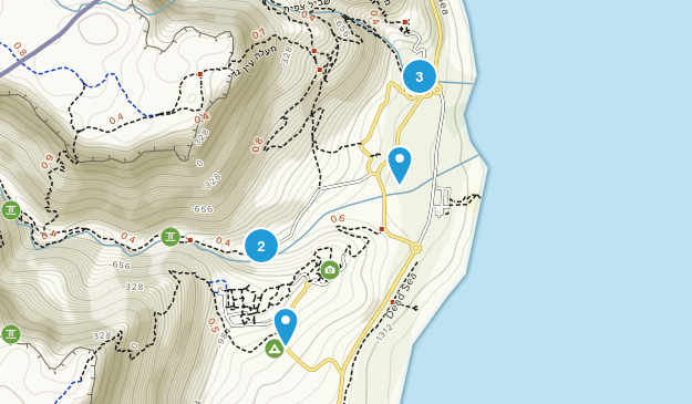Ein Gedi, HaDarom Walking Map