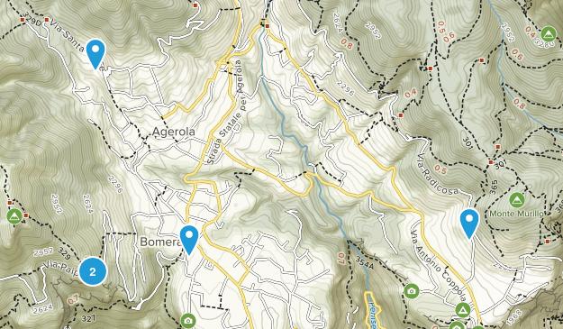 Agerola, Campania Birding Map