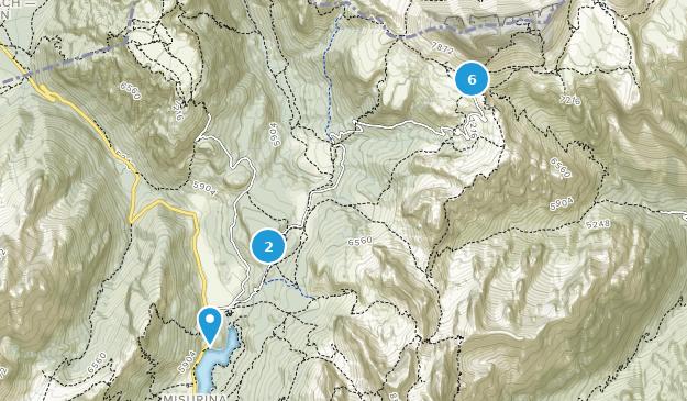 Auronzo Di Cadore, Friuli-Venezia Giulia Hiking Map