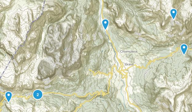 Cortina d'Ampezzo, Friuli-Venezia Giulia Hiking Map