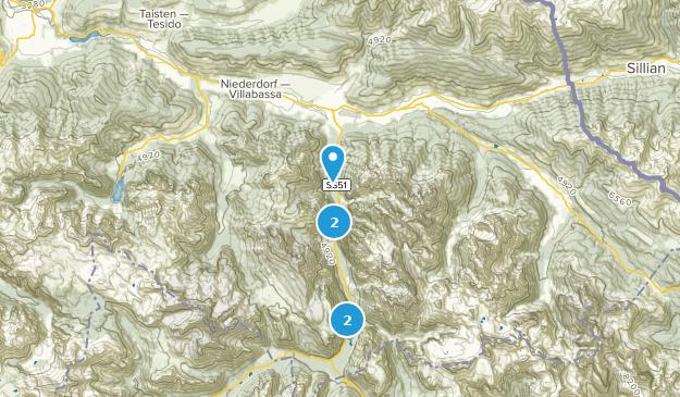 Dobbiaco - Toblach, Trentino-South Tyrol Birding Map