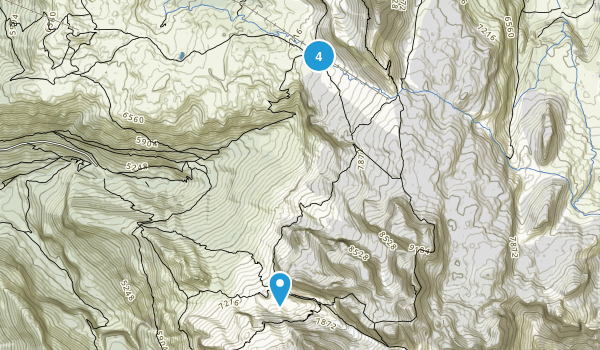 Palù, Trento Backpacking Map
