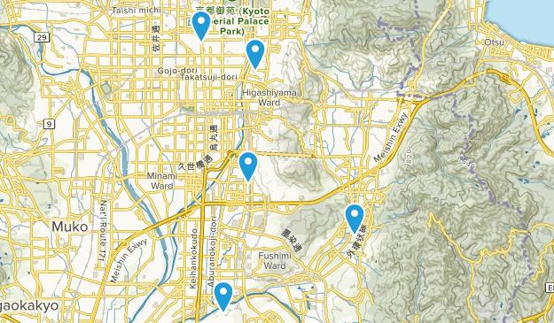Kyoto, Kyoto Walking Map
