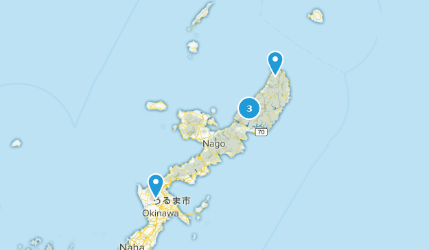 Kunigami, Okinawa Bird Watching Map